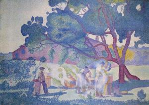 Henri Edmond Cross - 农场,晨报