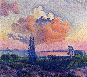 Henri Edmond Cross - 粉红云