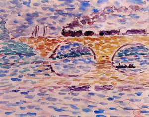 Henri Edmond Cross - 高架桥