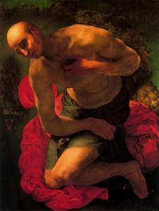 Jacopo Carucci (Pontormo) - 该后悔 of St . Jerome