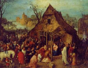 Jan Brueghel The Elder - 崇拜 of  贤士 2