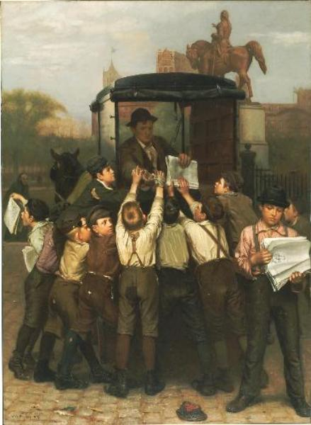 最后 版 通过 John George Brown (1831-1913, United Kingdom)
