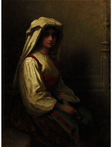 Jonathan Eastman Johnson - 波希米亚女孩