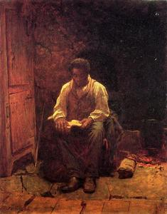 Jonathan Eastman Johnson - 耶和华是我的牧者