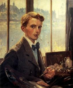 Jorge Apperley (George Owen Wynne Apperley) - Self-portrait 2
