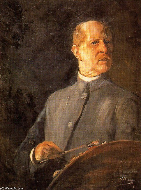 Self-Portrait 2 通过 José Villegas Cordero (1844-1921, Spain) | WahooArt.com