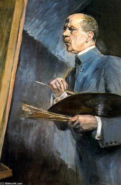 Self-Portrait 5 通过 José Villegas Cordero (1844-1921, Spain) | 畫再現 | WahooArt.com