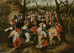 Pieter Bruegel The Younger - 婚礼 舞蹈