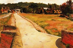 Stanley Spencer - 穆尔的Cookham