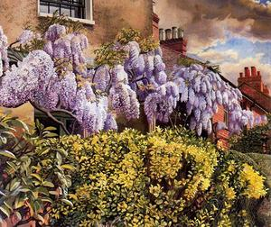 Stanley Spencer - 紫藤。的Cookham