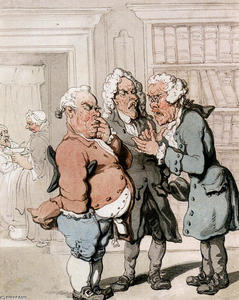 Thomas Rowlandson - 医生咨询