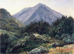William Stanley Haseltine - 山 风景  瑞士