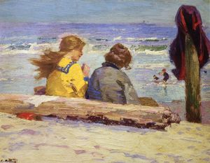 Edward Henry Potthast - 在伴侣