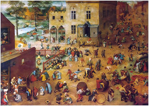 Pieter Bruegel The Elder - 儿童 游戏