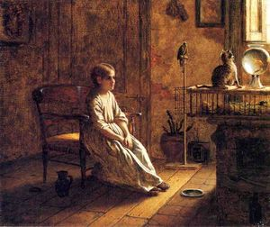 Jonathan Eastman Johnson - 孩子的动物园