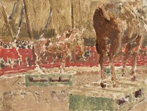Walter Richard Sickert - 马戏团  素描