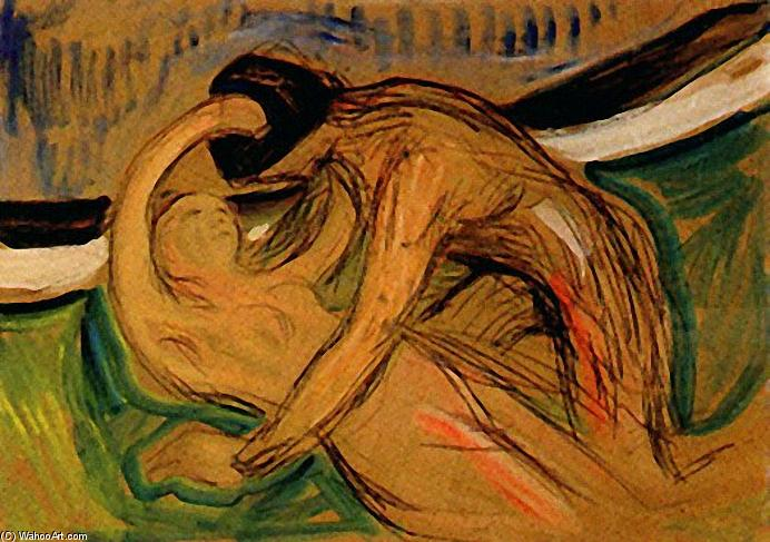 丘比特, 1907 通过 Edvard Munch (1863-1944, Sweden) | 手工畫 | WahooArt.com