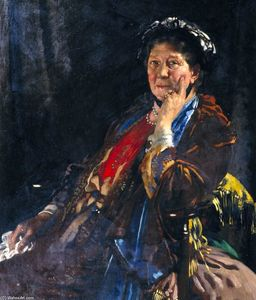 William Newenham Montague Orpen - 马奇夫人肯德尔