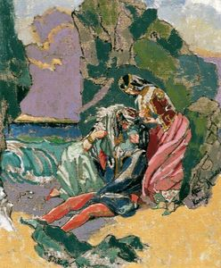 Walter Richard Sickert - 唐璜和海黛