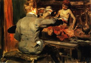 William Merritt Chase - Duveneck画土耳其页
