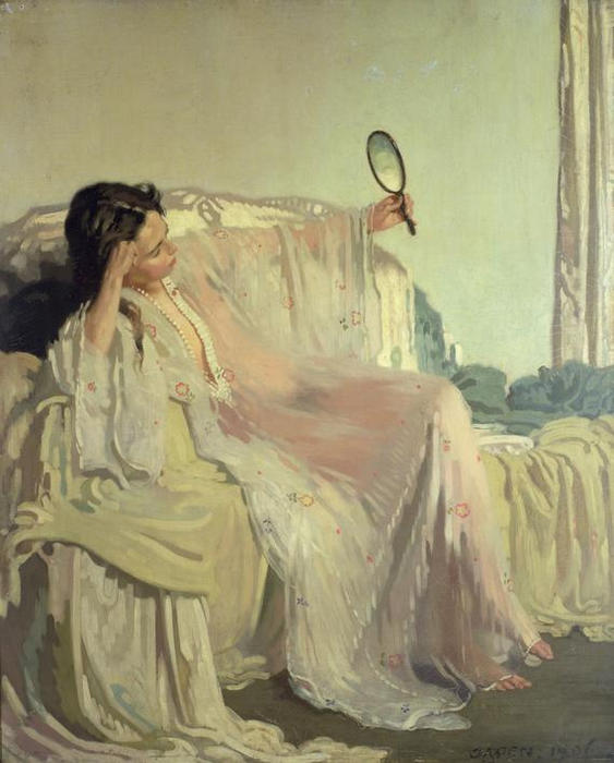 东方礼服, 1906 通过 William Newenham Montague Orpen (1878-1931, Ireland)