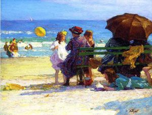 Edward Henry Potthast - 家族诞生