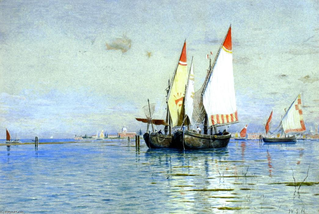 William stanley haseltine 1835 1900 for Delaware fishing charters