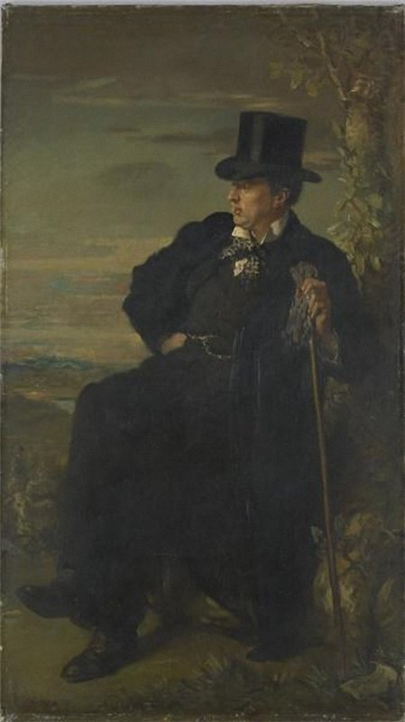 乔治·贝雷斯福德C., 1900 通过 William Newenham Montague Orpen (1878-1931, Ireland) | 幀畫冊專輯 | WahooArt.com