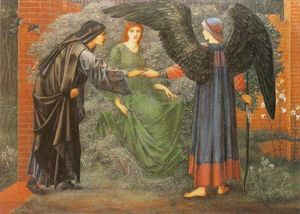 Edward Coley Burne-Jones - 心脏 的  的 罗斯