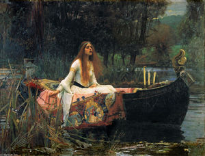 John William Waterhouse - Shalott的夫人