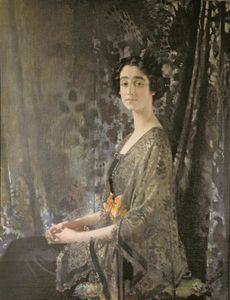 William Newenham Montague Orpen - 夫人Rocksavage