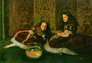 John Everett Millais - 闲暇时间