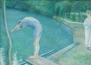 Gustave Caillebotte - 乐Nageur