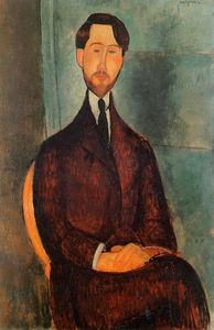 Amedeo Modigliani - 利奥波德Zborowski
