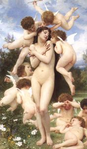 William Adolphe Bouguereau - 巴黎春天(又称回春)
