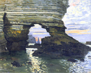 Claude Monet - port d `amount etretat