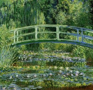 Claude Monet - 日本桥 ( 的 Water-Lily 池塘 )