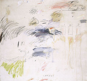 Cy Twombly -  无,  罗马
