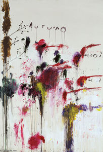 Cy Twombly - QUATTRO Stagioni,Autunno
