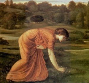 Edward Coley Burne-Jones - 三月万寿菊