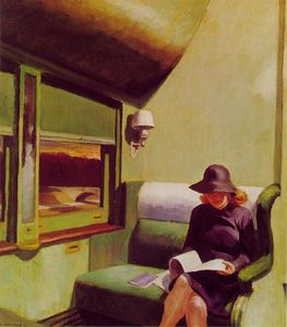 Edward Hopper - 车厢汽车