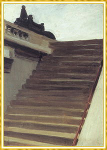 Edward Hopper - Stepsin 巴黎