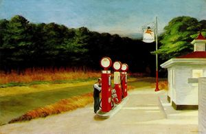 Edward Hopper - 气体