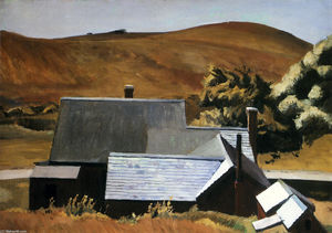 Edward Hopper - 魁梧科布之家,南特鲁罗