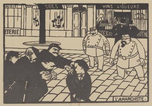 无政府主义者, 1892 通过 Felix Vallotton (1865-1925, Switzerland) | 幀打印 | WahooArt.com