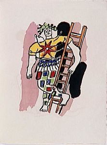 Fernand Leger - -The album --Circus--- ( 13 )