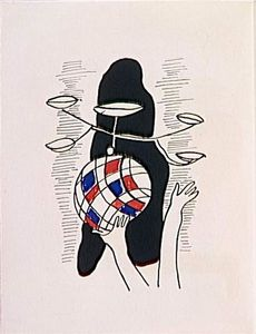 Fernand Leger - -The album --Circus--- ( 45 )