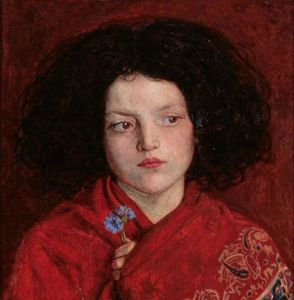 Ford Madox Brown -  的 爱尔兰的 女孩