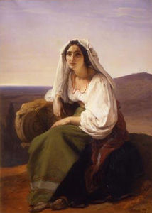 Francesco Hayez - 女子Ciociaria