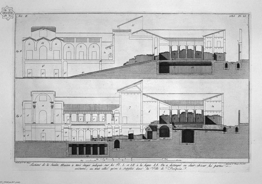 三层楼房子的设计图分享展示